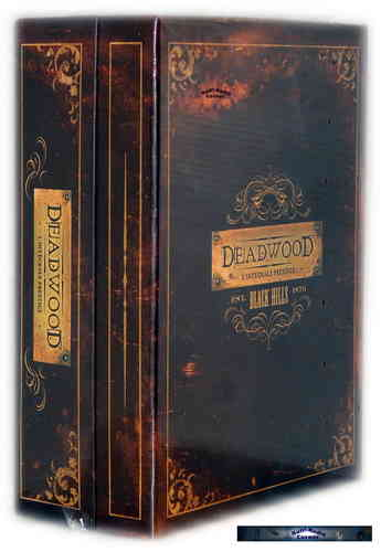 Deadwood - Die komplette Staffel 1,2+3 [DVD] Komplettlbox