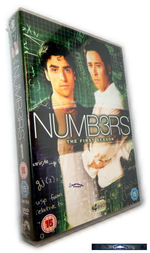 Numb3rs (Numbers) - Die komplette Staffel/Season 1 [DVD]