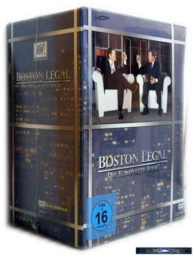 Boston Legal - Die komplette Serie - Staffel/Season 1-5 Sammelbox[DVD]