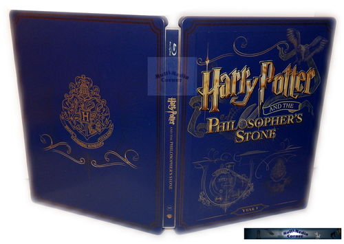 Harry Potter und der Stein der Weisen [Blu-Ray] 2-Disc limited Steelbook