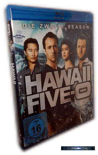 Hawaii Five-0 (5-0) - Die komplette Staffel/Season 2 [Blu-Ray]