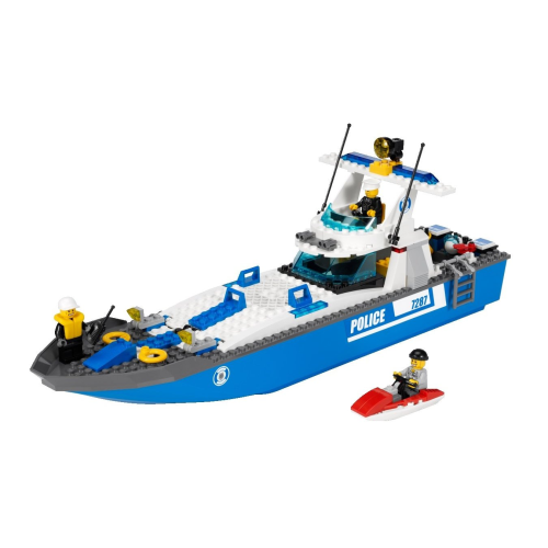 7287 Lego City Polizeiboot