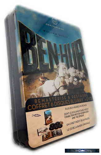 Ben Hur Ultimate Edition - limited Tin Steelbox inkl. Soundtrack CD [Blu-Ray]