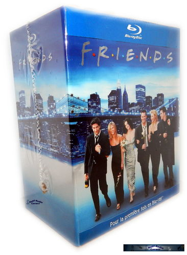 Friends - Die komplette Serie [Blu-Ray] Staffel 1,2,3,4,5,6,7,8,9+10