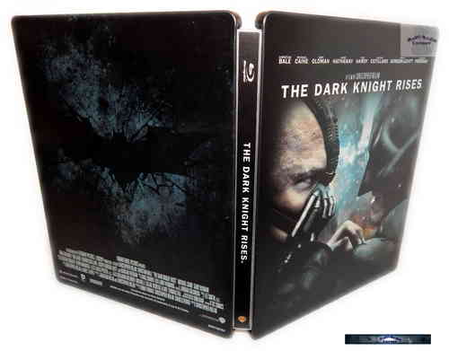 Batman - The Dark Knight Rises - limited Steelbook Edition [Blu-Ray]