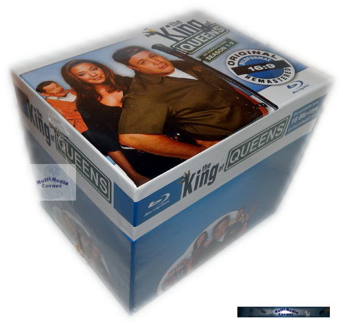 King of Queens - HD Superbox [Blu-Ray] Staffeln 1,2,3,4,5,6,7,8,9 (18-Disc) remastered
