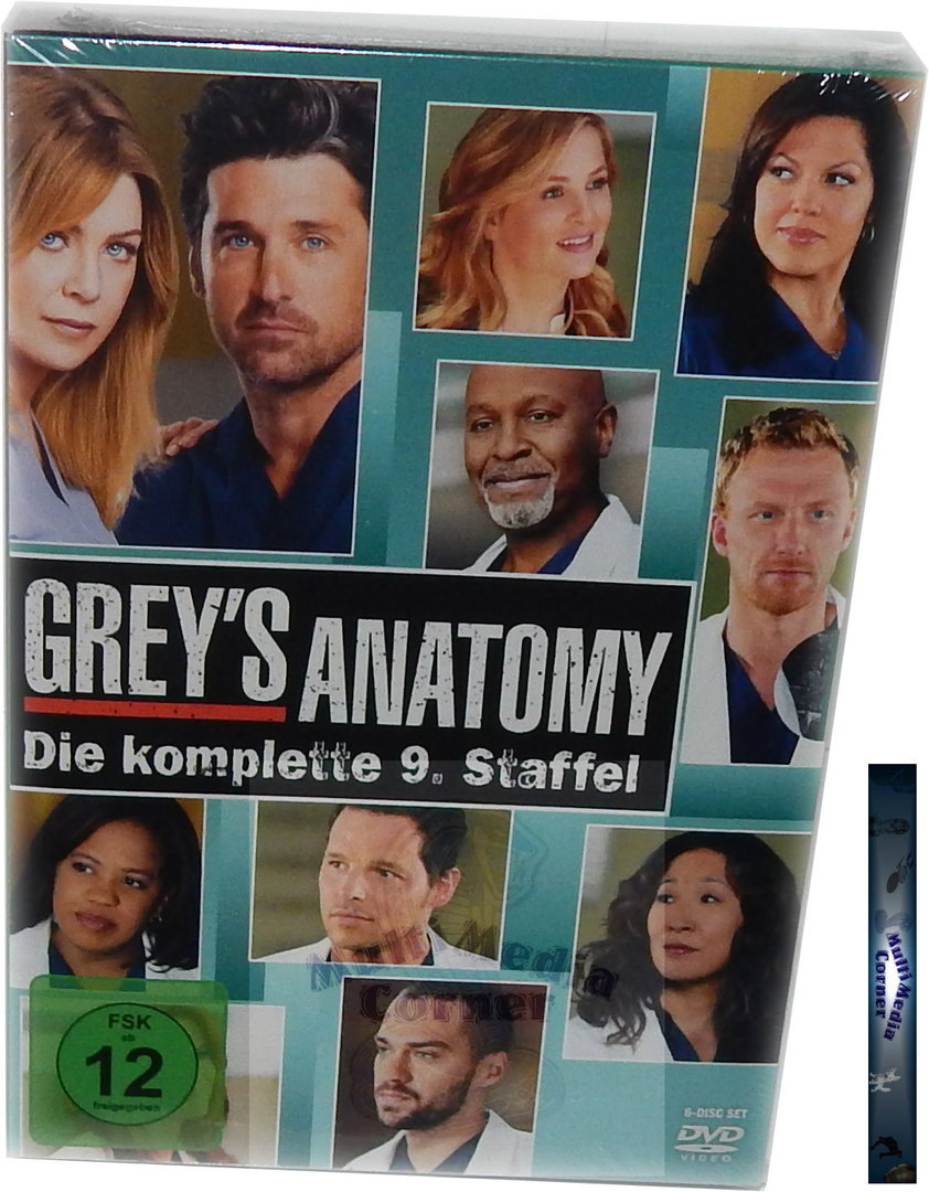 Grey´s Anatomy - Die komplette Staffel/Season 9 [DVD] 6-Disc