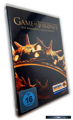 Game of Thrones - Die komplette Staffel/Season 2 [DVD]
