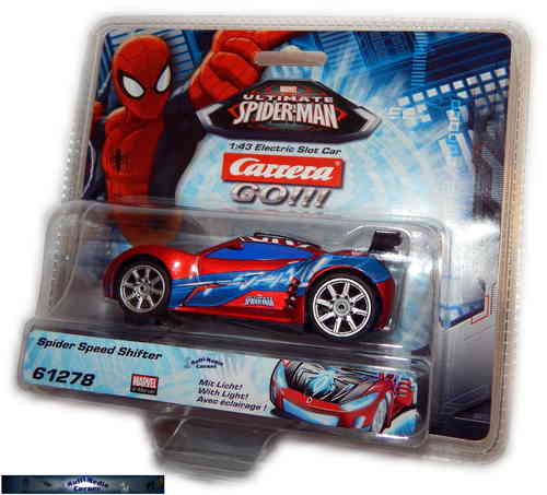 Carrera Go 61278 - Ultimate Spiderman - Spider Speed Shifter
