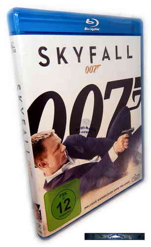 Skyfall [Blu-Ray] James Bond 007, Daniel Craig