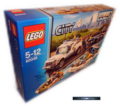 60045 Lego City - Polizei-Boot-Transporter