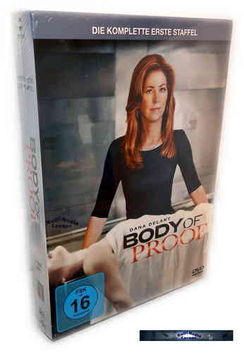 Body of Proof - Die komplette Staffel/Season 1 [DVD]