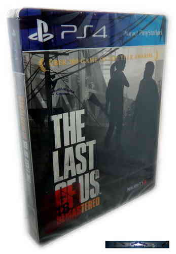 The Last of Us (remastered) [Playstation 4] limited Steelbook