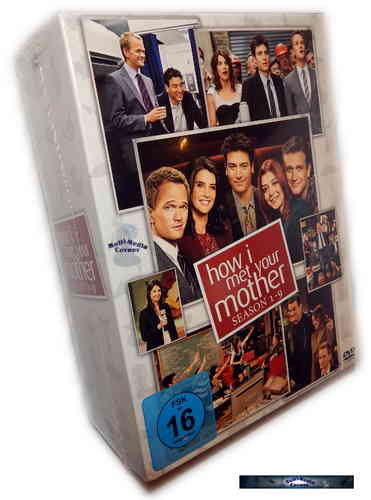 How I met your mother Komplettbox - Staffel/Season 1,2,3,4,5,6,7,8+9 [DVD]