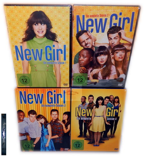 New Girl - Die komplette Staffel/Season 1,2,3,4 [DVD] 13-Disc Set