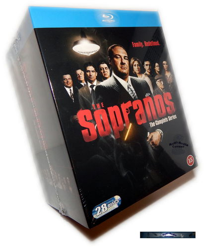 Die Sopranos Komplettbox - Staffel/Season 1,2,3,4,5+6 [Blu-Ray]