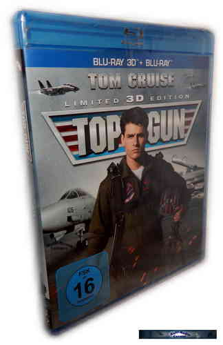 Top Gun - limited 3D Edition (+2D) [Blu-Ray]