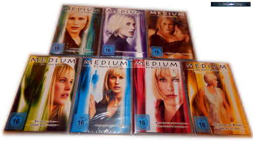 Medium Set - Die komplette Serie (Staffel/Season 1,2,3,4,5,6,7) [DVD]