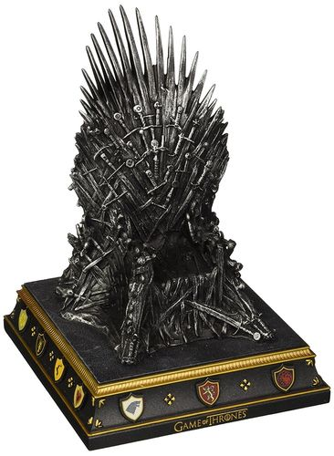 Game of Thrones - Eiserner Thron Statue (Buchstütze) The Iron Throne Bookend