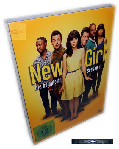 New Girl - Die komplette Staffel/Season 4 [DVD]