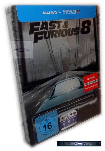 Fast and the Furious 8 [Blu-Ray] limited Steelbook