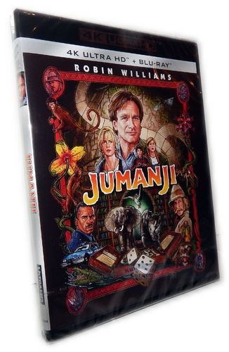 Jumanji [4K UHD + Blu-Ray] Robin Williams, Kirsten Dunst