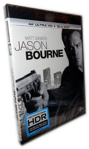 Jason Bourne [4K UHD + Blu-Ray] Matt Damon