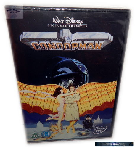 Condorman [DVD] Walt Disney, EU-Import, Deutsch(er) Ton