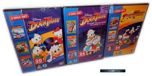 Duck Tales Collection 1,2,3 [DVD] Walt Disney 9-Disc