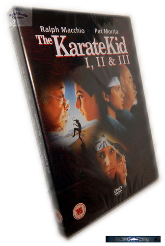 Karate Kid 1,2,3 (1-3) [DVD] Box-Set