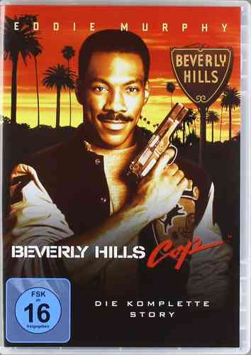 Beverly Hills Cop 1,2+3 [DVD] Triple Feature