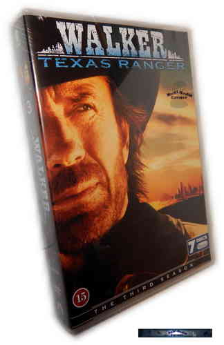 Walker Texas Ranger - complete Season 3 [DVD]