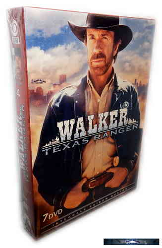 Walker Texas Ranger - complete Season 4 [DVD]