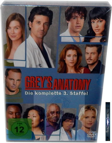 Grey´s Anatomy - Die komplette Staffel/Season 3 [DVD]