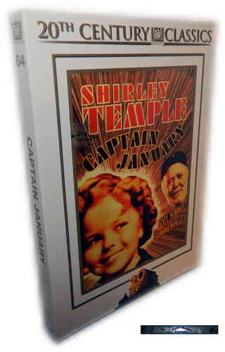 Captain January [DVD] Shirley Temple