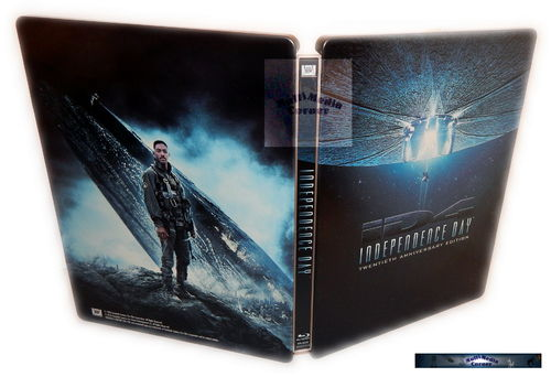 Independence Day - limited Steelbook Extended Cut [Blu-Ray] 20th Anniversary Edition