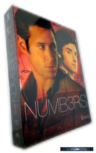 Numb3rs (Numbers) - Die komplette Staffel /Season 3 [DVD]