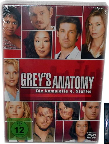 Grey´s Anatomy - Die komplette Staffel/Season 4 [DVD]