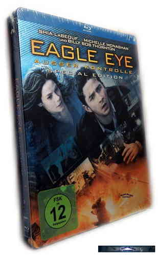 Eagle Eye - Ausser Kontrolle - limited Steelbook [Blu-Ray]