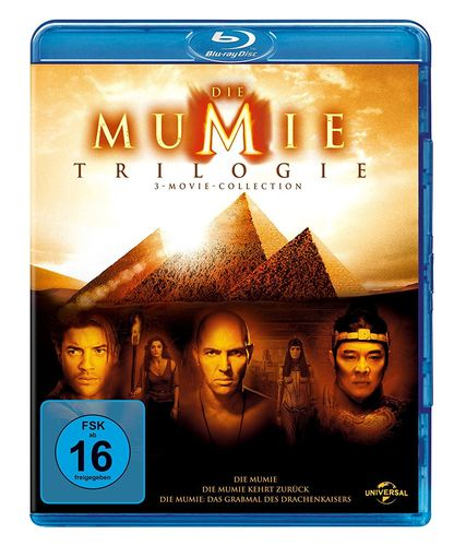 Die Mumie Trilogie/Trilogy 1,2,3 [Blu-Ray] Box-Set