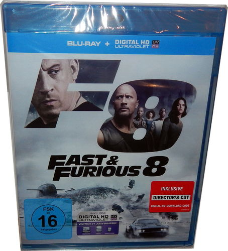 Fast and the Furious 8 [Blu-Ray]