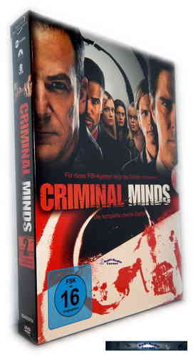 Criminal Minds - Die komplette Staffel/Season 2 [DVD]