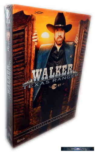 Walker Texas Ranger - complete Season 6 [DVD]