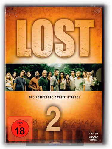 Lost - Die komplette Staffel/Season 2 [DVD]