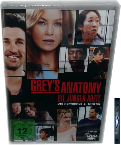 Grey´s Anatomy - Die komplette Staffel/Season 1 [DVD]