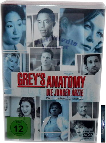 Grey´s Anatomy - Die komplette Staffel/Season 2 [DVD]