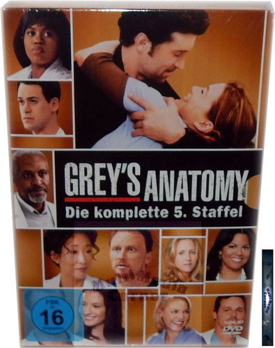 Grey´s Anatomy - Die komplette Staffel/Season 5 [DVD]