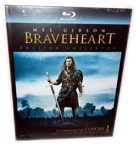Braveheart 2-Disc Edition Digibook [Blu-Ray] (Deutscher) Ton)