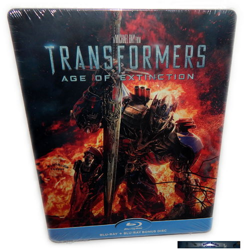 Transformers 4: Ära des Untergangs [Blu-Ray] 2-Disc Steelbook