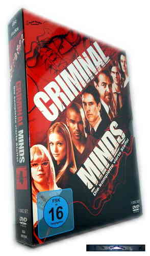 Criminal Minds - Die komplette Staffel/Season 4 [DVD]